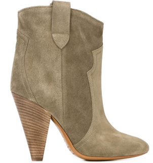 Isabel Marant �toile Green Roxann Ankle Boots