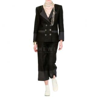 Chanel Lattice Cut-Out Double Breasted Jacket