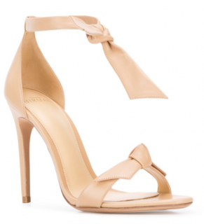 Alexandre Birman bow tie stiletto sandals