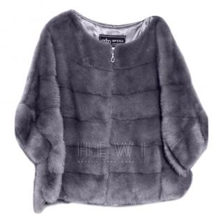 Imperia Violet Mink Fur Jacket