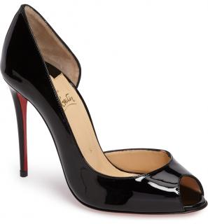 Christian Louboutin Demi You Half D'orsay 100mm Pumps