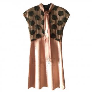 Max Mara Shine Sequin Embroidered Dress