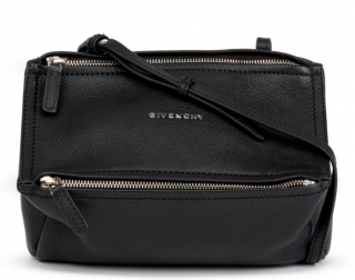 Givenchy Pandora Black Leather Cross-Body Bag