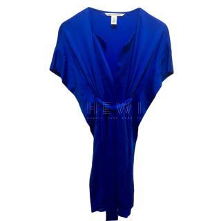 Diane Von Furstenberg Blue Tuvallu Kaftan