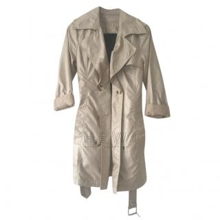 Gant Natural Cotton Belted Trench Coat