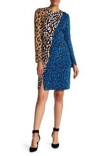 Diane Von Furstenberg Belmont Leopard Print Dress