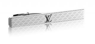 Louis Vuitton Silver Tone Champs Elyse Tie Pin