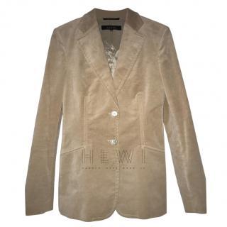 Gucci Beige Velvet Jacket
