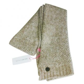 See by Chloe Wool Knit Scarf