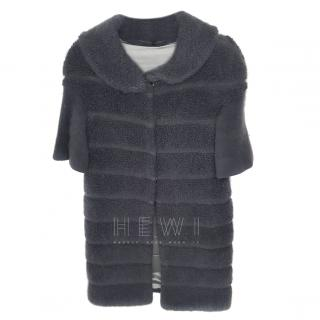 Ermanno Scervino Reversible Shearling Coat