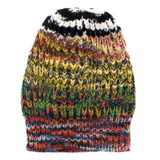 Missoni Knit Multicolored Beanie