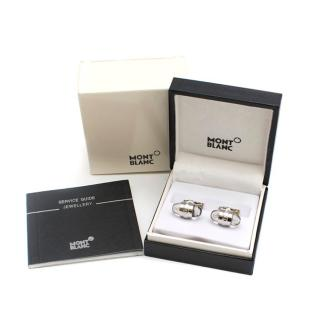 Mont Blanc Stainless Steel Urban Walker Cufflinks
