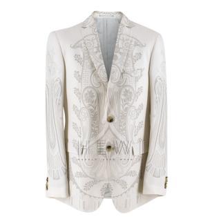 Etro Silk Paisley Print Jacket