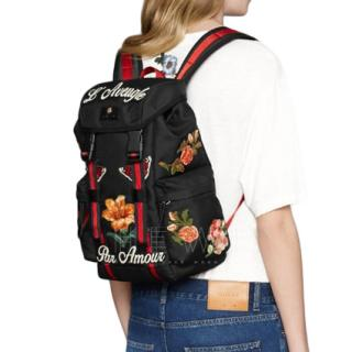 Gucci embroidered Blind For lOve Backpack