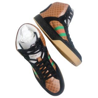 Gucci Dapper Dan HIgh Top Sneakers