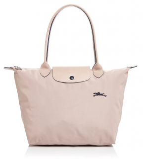 Longchamp Le Pliage Club Medium Shoulder Tote - Pink in Hawthorn