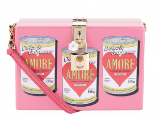 Dolce & Gabbana Pink 'Amore' Box Bag