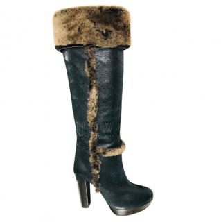 Tory Burch Sebastian knee boots
