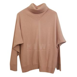 Max Mara oversized wool roll neck jumper