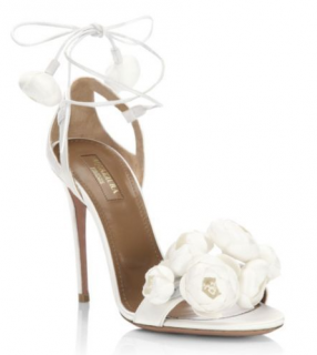 Aquazzura Wildflower Bridal Sandals