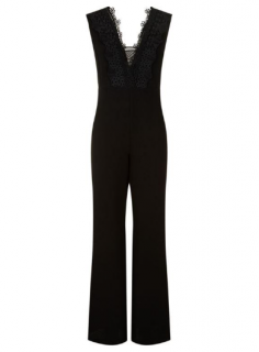 Maje Polly Embroidered Jumpsuit
