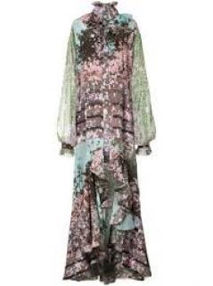 Natasha Zinko Sakura silk dress