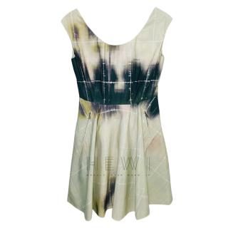 Mulberry Tie-Dye Sleeveless MIni Dress