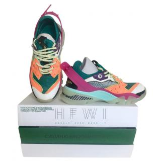 Calvin Klein 205W39NYC Carlos 10 leather mesh sneakers