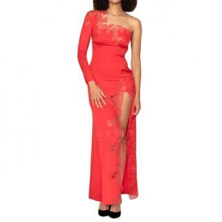 Agent Provocateur Sereyah red silk dress