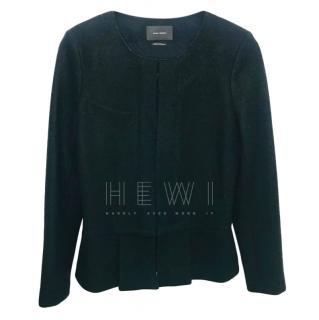 Isabel Marant Grey Merino Wool Jacket