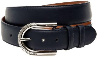 Billionaire Black Leather Belt
