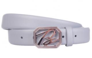 Brioni Men's Grey Belt