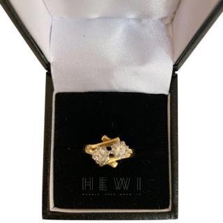 Bespoke Vintage Yellow Gold Diamond Ring