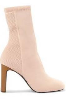 Rag & Bone Stretch Knit Peach Sock Boots