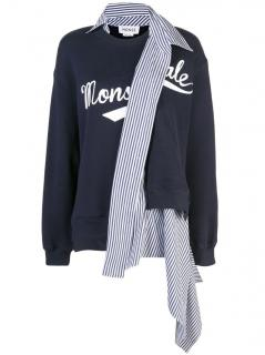 Monse Deconstructed Cashmere Blend Sweatshirt