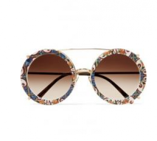 Dolce & Gabbana Clip-On Convertible Sunglasses
