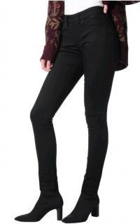 Acne Studios Back Zip Stretch Skinny Jeans