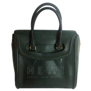 Alexander McQueen Forest Green Heroine Bag