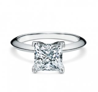 Tiffany & Co. Princess Cut Diamond Ring