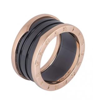 Bvlgari Rose Gold B.Zero1 Ring