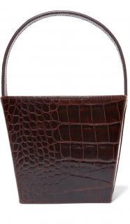 Staud Edie croc-effect leather tote