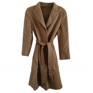Max Mara Studio camel cashmere coat