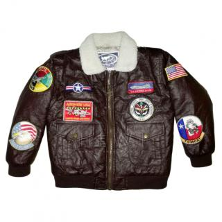 US Air Force Top Gun Junior Flight Pilot Jacket