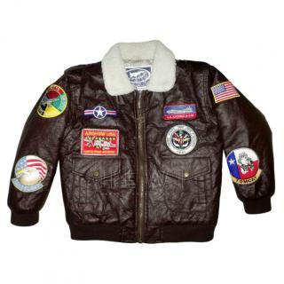 US Air Force Top Gun Junior Flight Pilot Jacket