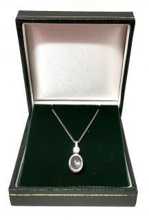 Bespoke Rose Quartz Pendant Necklace