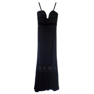 Alexander McQueen Leaf Crepe Gown
