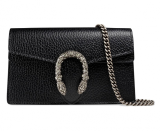 Gucci Super Mini Dionysus Black Bag