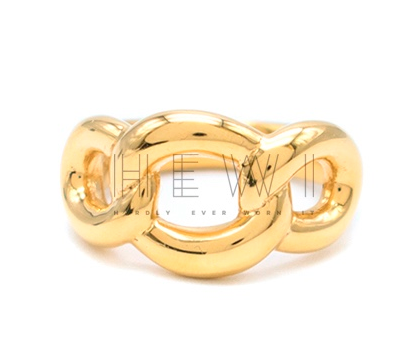 Dinny Hall Gold Plated Twist Ring
