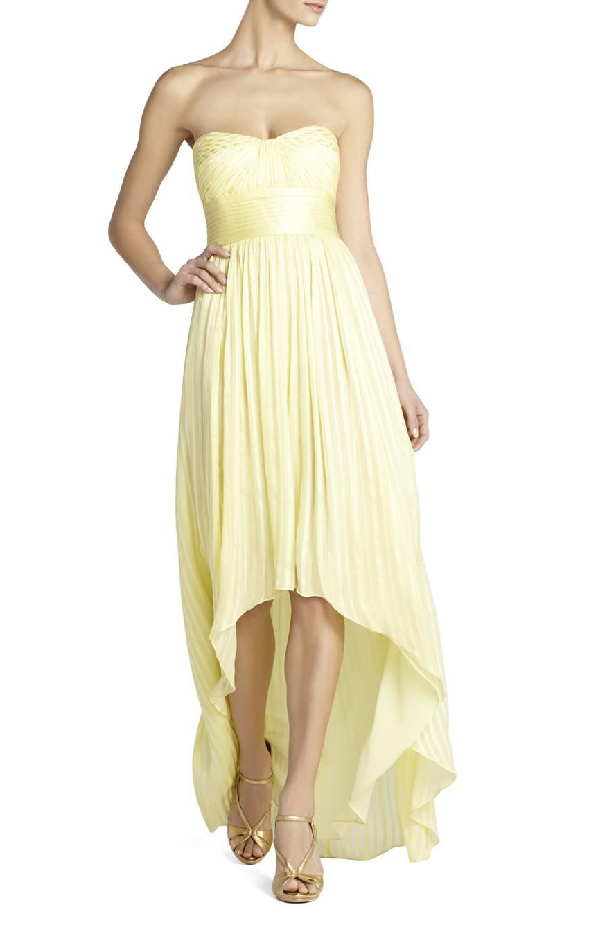 BCBG Max Azria Alicia Charmeuse Dress