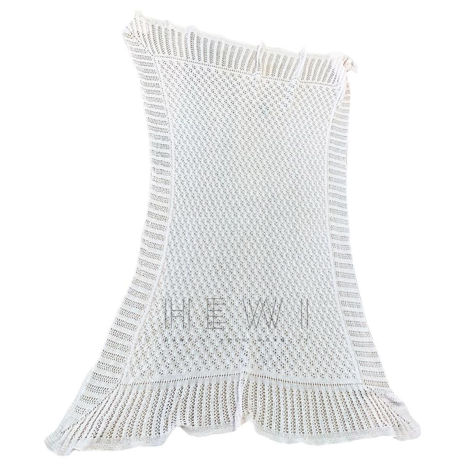 Harrods Baby Pink Knit Cot Blanket